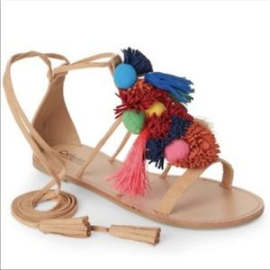 Catherine Pom Pom pomisha sandals new in box
